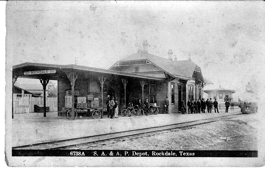History Of Rockdale Milam County Texas