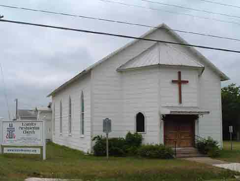 Photo of the Bagdad Presbyterian Church Organized in Leander area in 1857